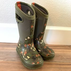 Bogs Classic Woodland Pull On Winter Snow Boots 11